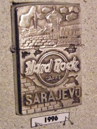Hard Rock Cafe Zippo Lighter